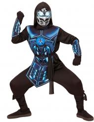Déguisement cyber ninja lumineux et sonore enfant