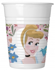 8 Gobelets en plastique Disney Princesses™ 200 ml