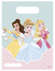 6 Sacs à cadeaux Princesses Disney™ 16.5 x 23 cm