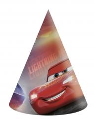 6 chapeaux de fête en carton Cars 3™