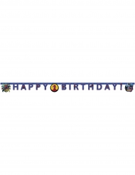 Guirlande happy birthday Spiderman™ 200 x 16 cm