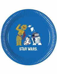 8 Assiettes  en carton Star Wars Forces™ 20 cm