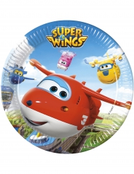 8 Assiettesen carton 23cm Super Wings™