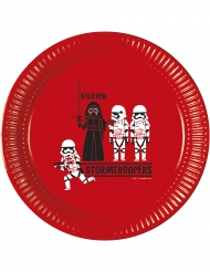 8 Assiettes  en carton Star Wars Forces™ 23 cm