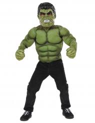 Déguisement rembourré Hulk™ avec masque garçon