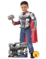 Coffret déguisement Thor Avengers™ avec marteau garçon