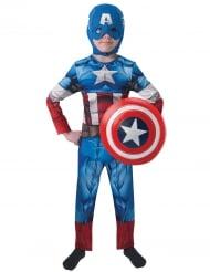 Déguisement Captain America™ avec bouclier garçon