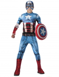 Déguisement luxe Captain America Avengers™ garçon