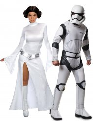 Déguisement couple princesse Leia et Stormtrooper - Star Wars™