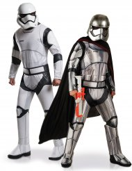 Déguisement de couple Stormtrooper et Captain Phasma Star Wars™