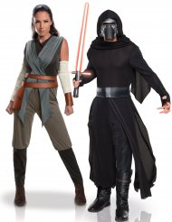 Déguisement de couple Rey et Kylo Ren - Star Wars™