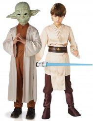 Déguisement couple Yoda et Jedi enfants- Star Wars™