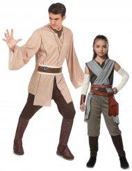 Déguisement couple Rey et Jedi père/fille - Star Wars™