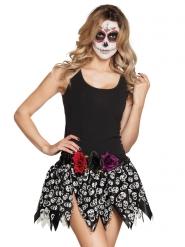 Jupe squelettes mexicains adulte Dia de los muertos
