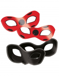 8 Masques en carton Ladybug™