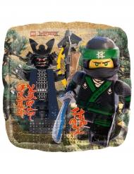 Ballon carré aluminium Lego Ninjago™ 43 cm