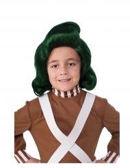 Perruque Oompa Loompa™ Charlie et la Chocolaterie™ enfant
