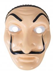 Masque voleur en plastique adulte
