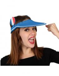 Casquette visière en mousse supporter France