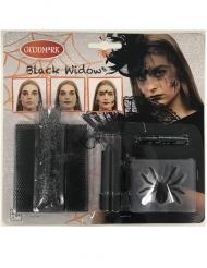 Kit maquillage veuve noire araignée
