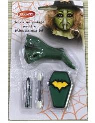 Mini kit maquillage sorcière et faux nez