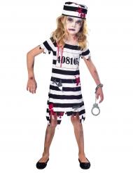 Déguisement prisonnière zombie fille