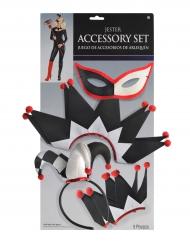 Kit accessoires arlequin femme