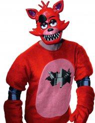 Demi masque en plastique Foxy™ jeu vidéo Five nights at Freddy