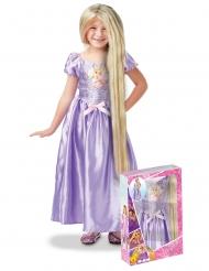 Coffret princesse Raiponce™ avec sequins et perruque fille