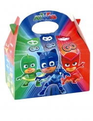 4 Boîtes en carton Pyjamasques™ 16 x 10,5 x 16 cm