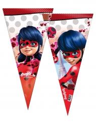 6 Grands sachets de fête Ladybug™ 30 x 60 cm