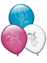 8 Ballons en latex La Reine des Neiges™