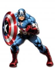 Décoration murale articulée Captain America™ 1 m