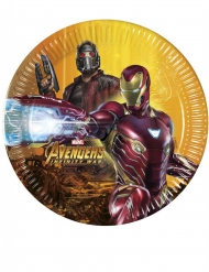 8 Assiettes Avengers Infinity War™ 20 cm