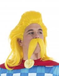 Perruque et moustache Assurancetourix™ - Astérix et Obélix™