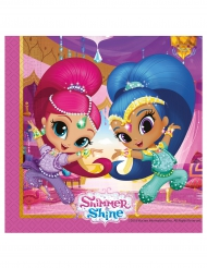 20 Serviettes Shimmer and Shine™ 33 x 33 cm