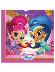 20 Serviettes Shimmer and Shine™ 33 x 33 cm