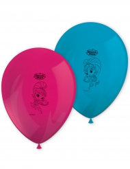 8 Ballons imprimés Shimmer and Shine™