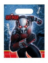 6 Sacs cadeaux Ant-Man™ 23 x 16,5 cm