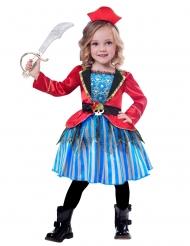 Déguisement petite pirate fille