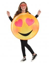 Déguisement émoticône amoureux enfant