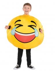 Déguisement émoticône mort de rire enfant
