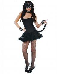 Kit accessoires chat sexy noir femme