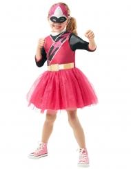 Déguisement classique Power Rangers Ninja Steel™ rose fille