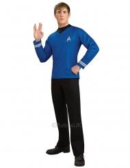 T-shirt deluxe bleu Spock Star Trek™ homme