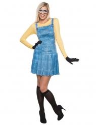 Déguisement robe Minions™ femme