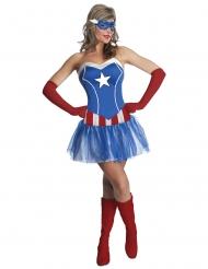 Déguisement robe tutu Miss America™ femme