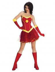 Déguisement robe tutu Iron girl™ femme