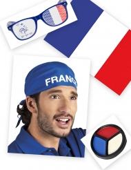 Kit supporter France lunettes et bandana