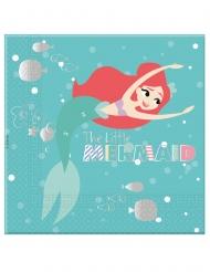 20 Serviettes en papier premium Ariel™ 33 x 33 cm